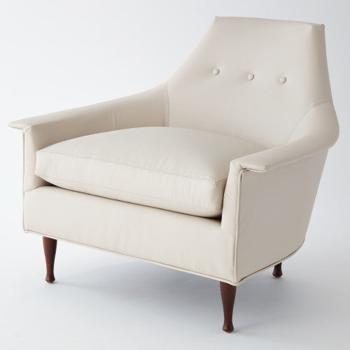 Brigitte Leather Chair - Grats Decor Interior Design & Build Inc.