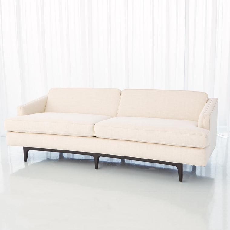 "Crescent 90"" Sofa - Avada Ivory - Grats Decor Interior Design & Build Inc."