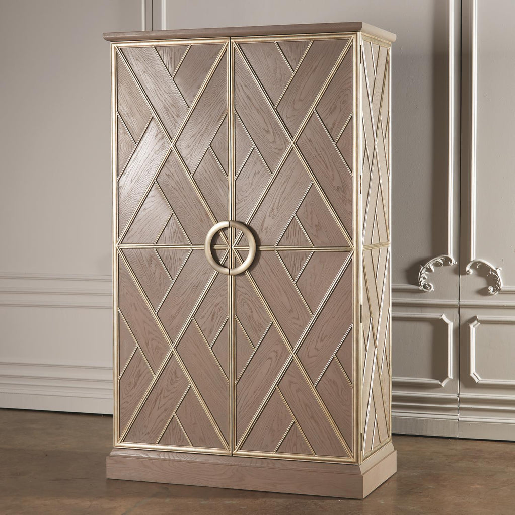 Amherst Collection Tall Cabinet - Grats Decor Interior Design & Build Inc.