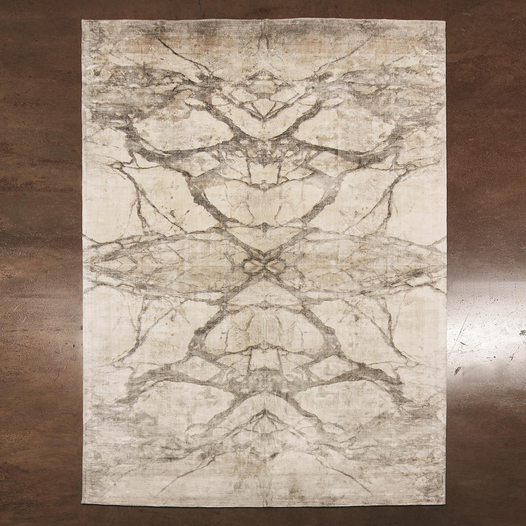 Mirror Match Marble Rug - Neutrals - Grats Decor Interior Design & Build Inc.