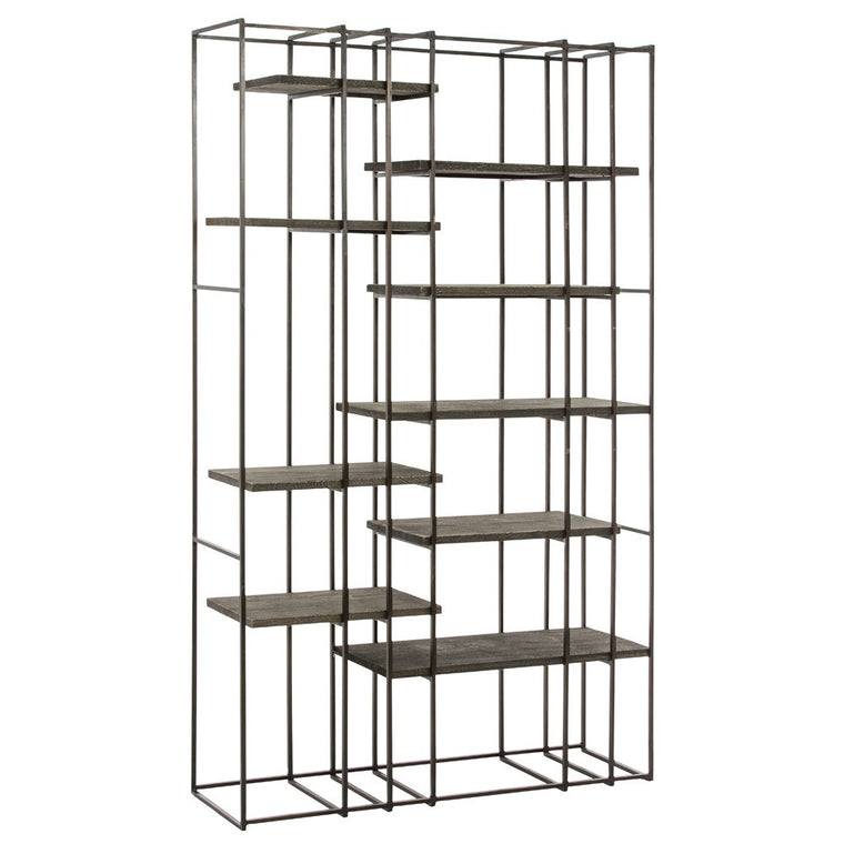"Terrace 47""W x 83""H Bookshelf - Grats Decor Interior Design & Build, Inc.  - 1"