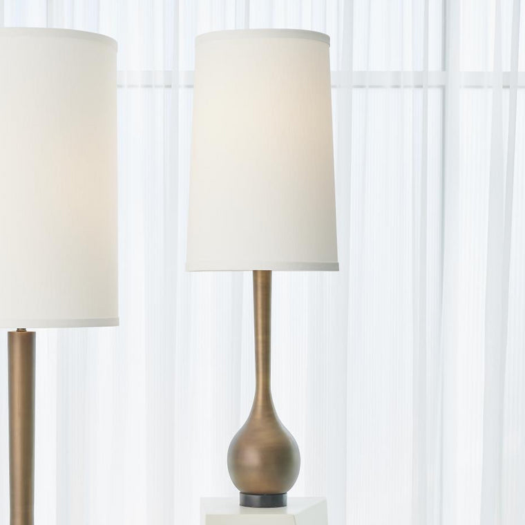 Bulb Table Lamp - Light Bronze - Grats Decor Interior Design & Build Inc.