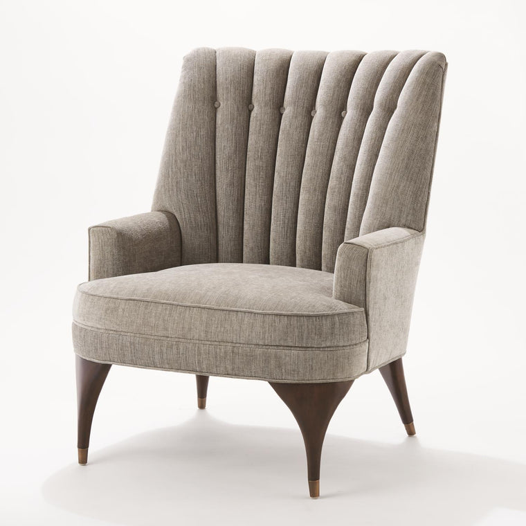 Duncan Chair - Silversmith Fabric