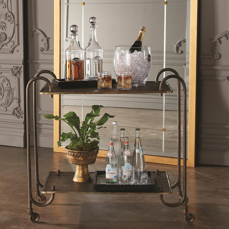 Blade Bar Cart - Bronze - Grats Decor Interior Design & Build Inc.