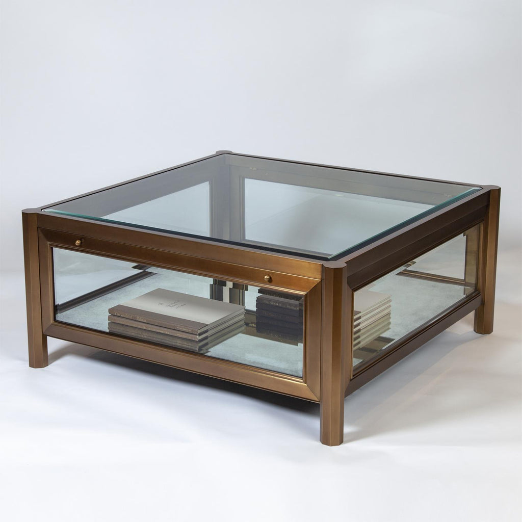 Apothecary Cocktail Table - Grats Decor Interior Design & Build Inc.