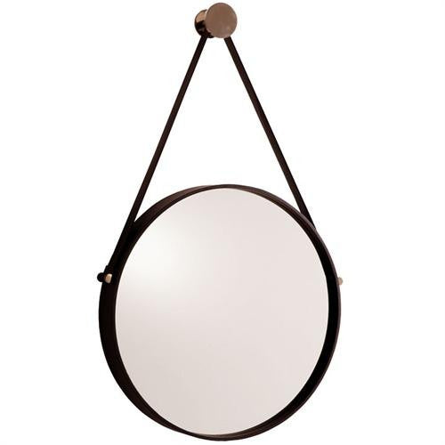 "Expedition Mirror 18""Dia Mirror - Black - Grats Decor Interior Design & Build Inc."
