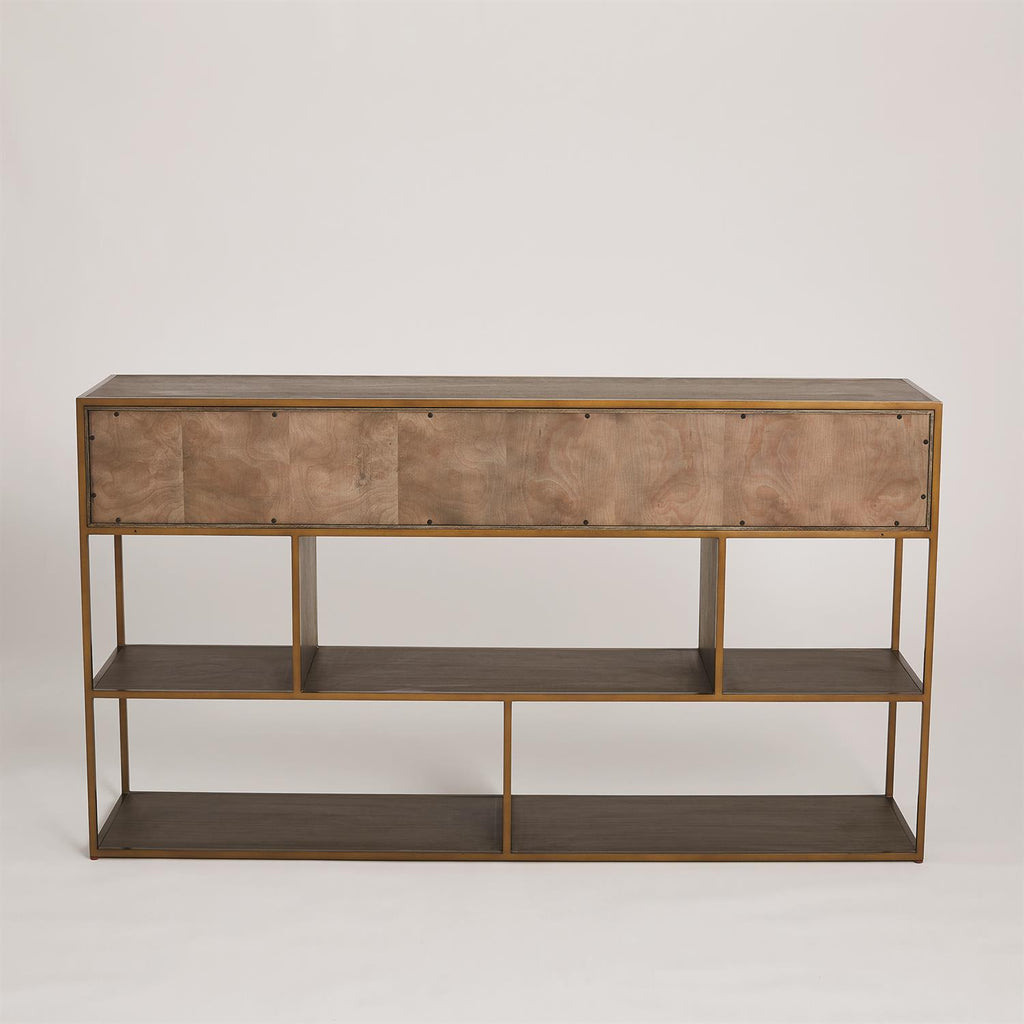 Mack Console - Grats Decor Interior Design & Build Inc.