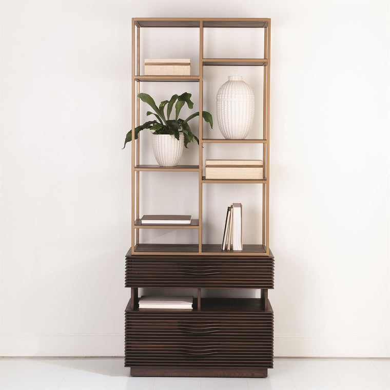 Oslo Etagere - Grats Decor Interior Design & Build Inc.