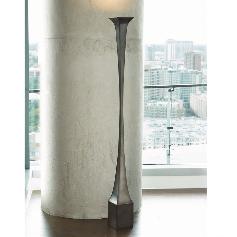 Giac Torchiere Floor Lamp - Bronze - Grats Decor Interior Design & Build Inc.
