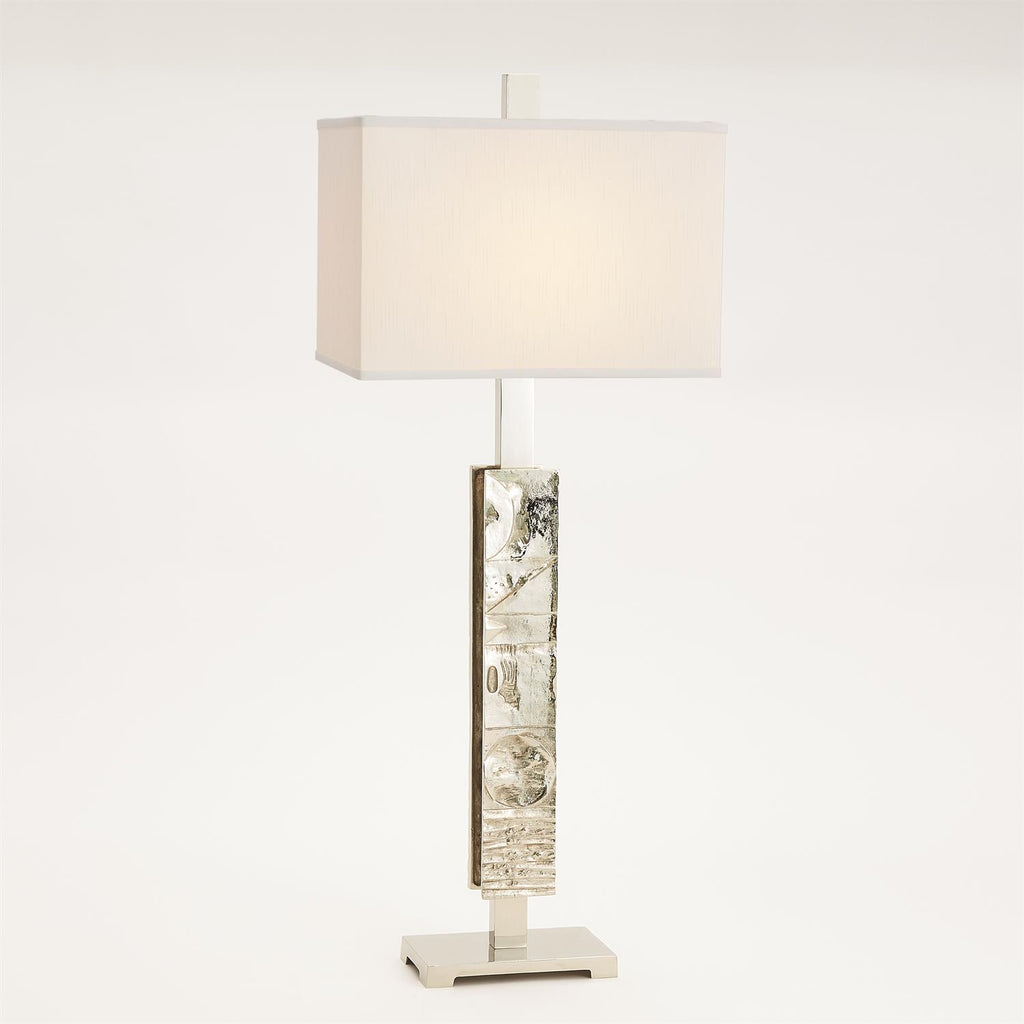 Pimlico Table Lamp - Nickel - Grats Decor Interior Design & Build Inc.