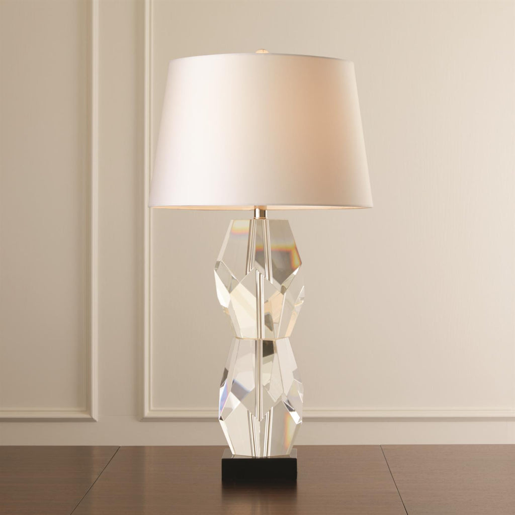 Facet Block Lamp - Double - Grats Decor Interior Design & Build Inc.