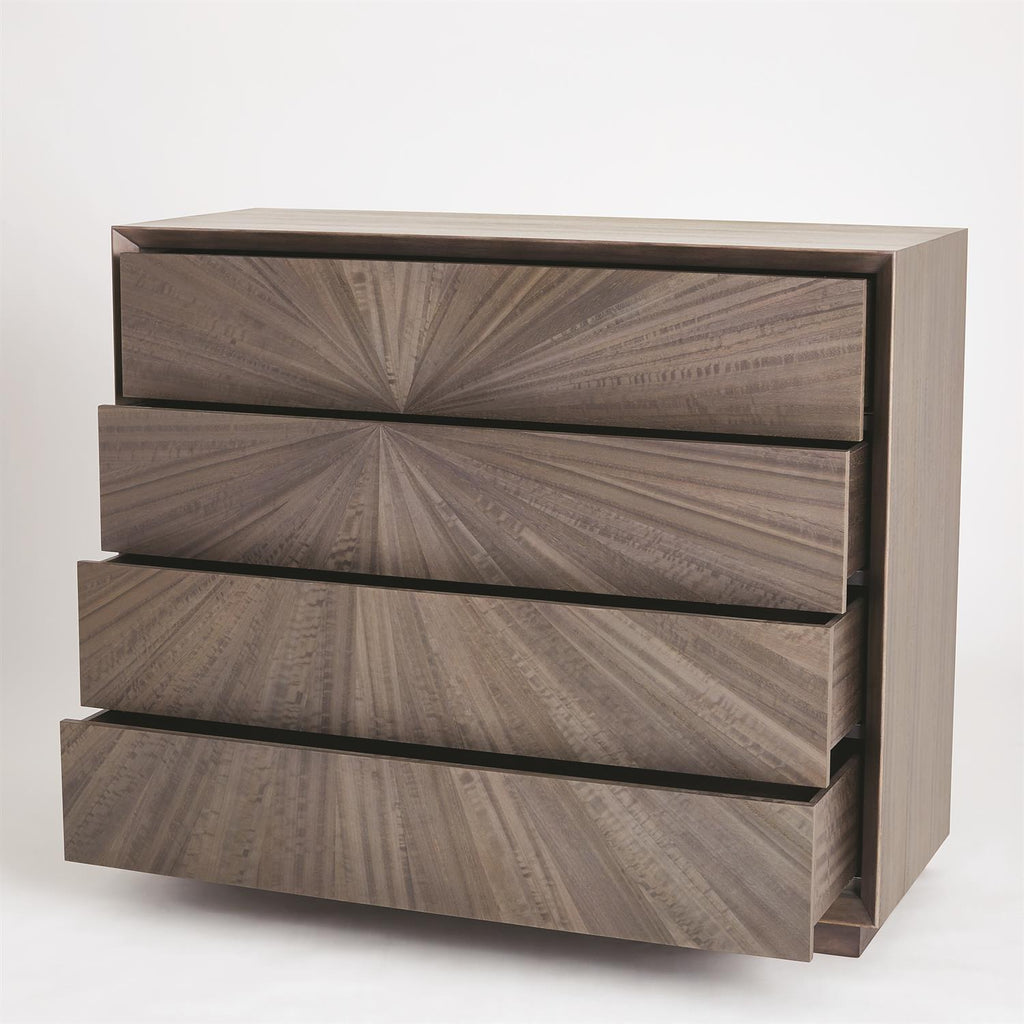 Eucalyptus Burst Dresser - Grats Decor Interior Design & Build Inc.