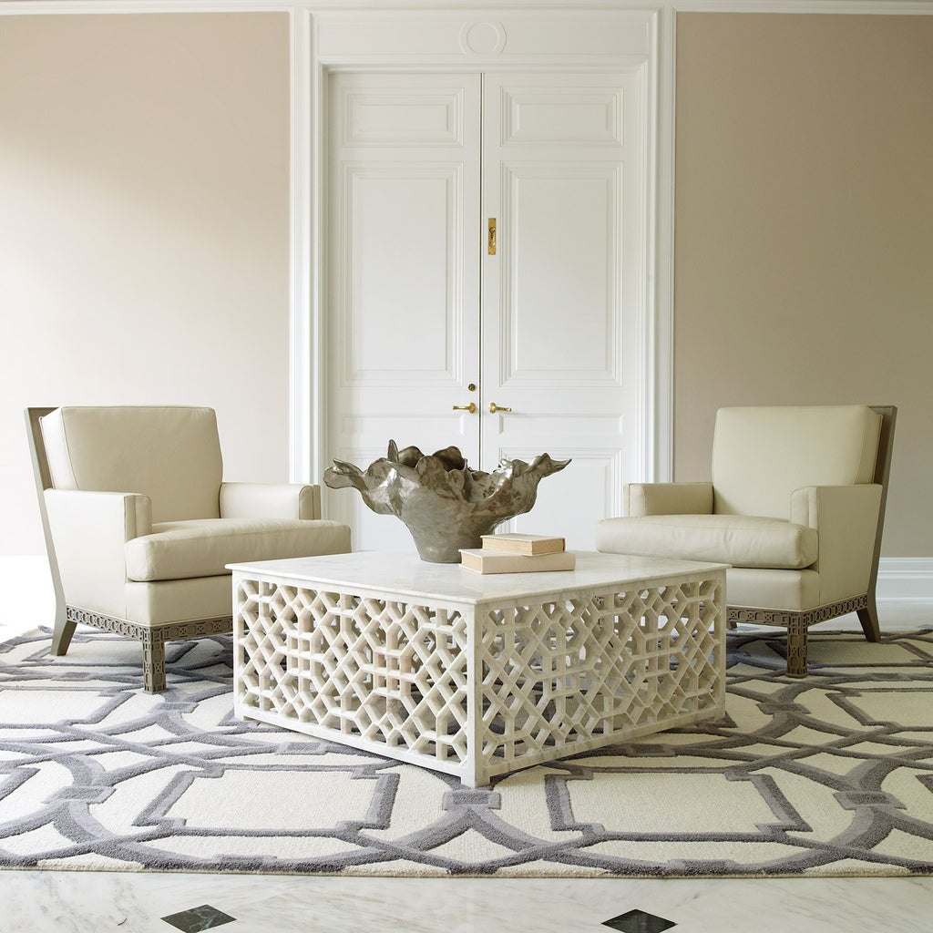 Sultan Rug - 4 Sizes - Grey/Ivory - Grats Decor Interior Design & Build Inc.