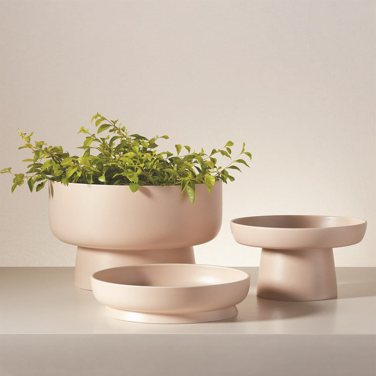 Barbara Barry Encircle Tazza Collection - Adobe - 3 sizes
