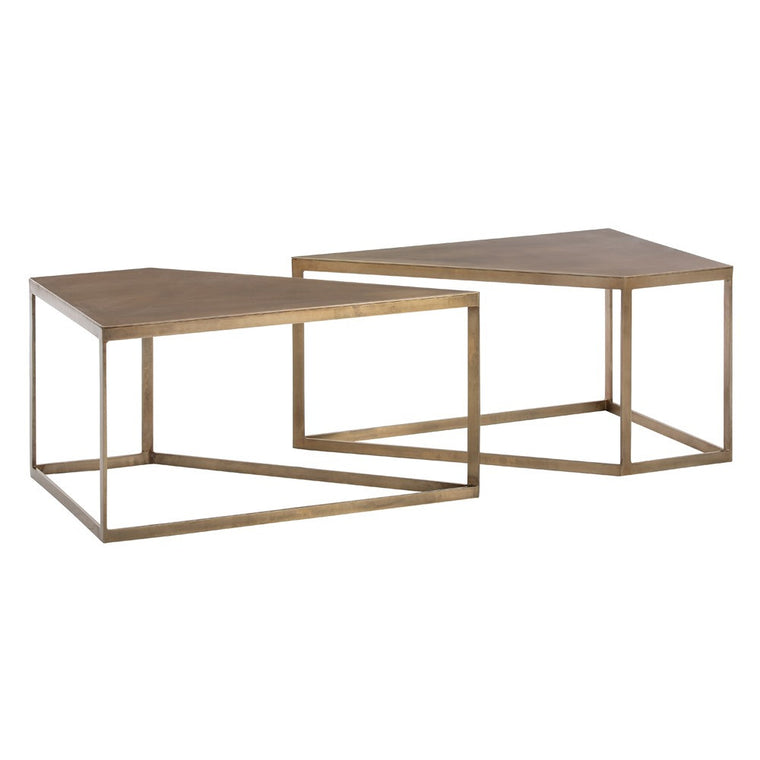 "Austin 40"" Cocktail Table, Set of 2 - Grats Decor Interior Design & Build Inc."