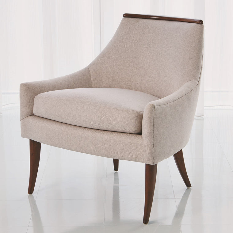 Boomerang Chair - Candid Fleece
