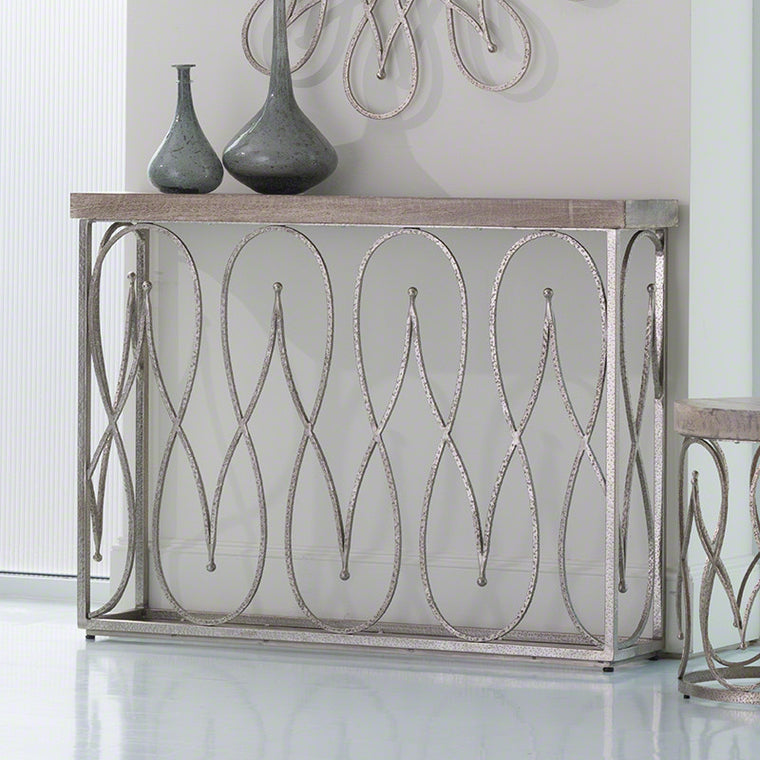 "Moroccan 46"" Console - Grats Decor Interior Design & Build, Inc."