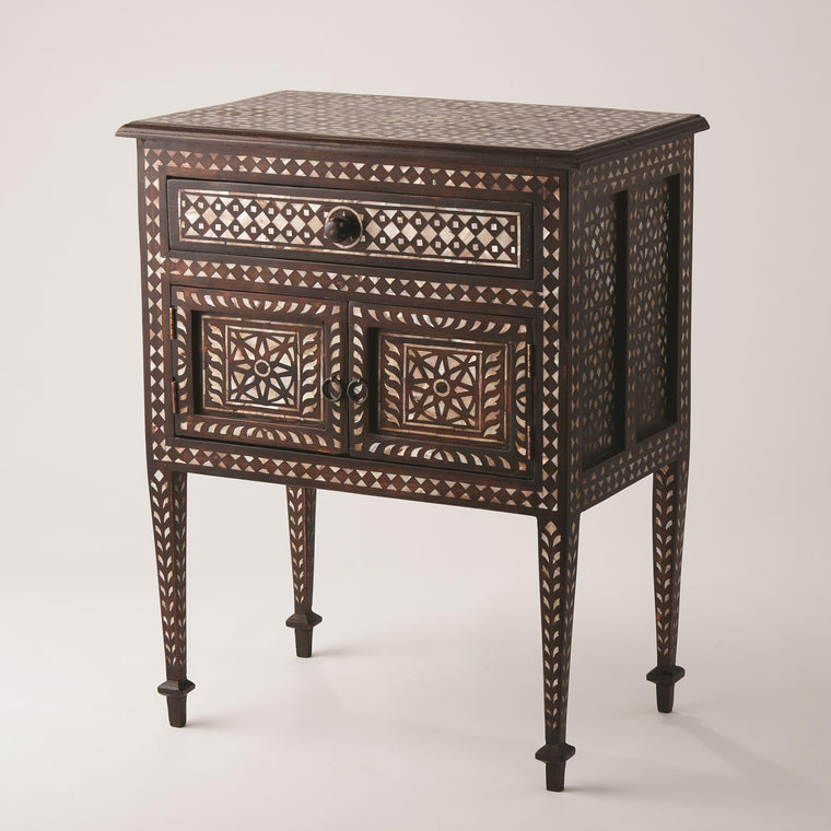 Bhawana Nightstand - Grats Decor Interior Design & Build Inc.