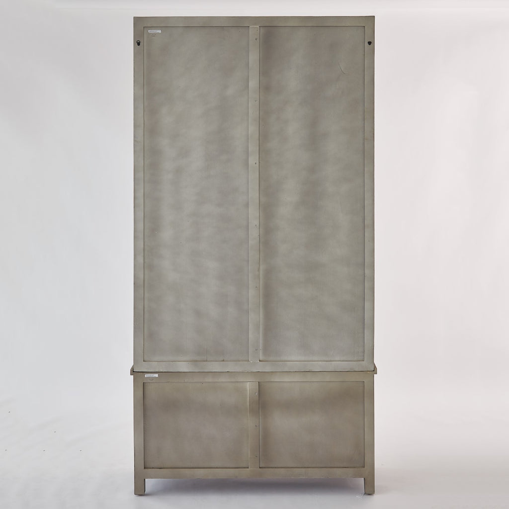 "Driftwood 48""W x 94""H Vitrine - Grey - Grats Decor Interior Design & Build Inc."