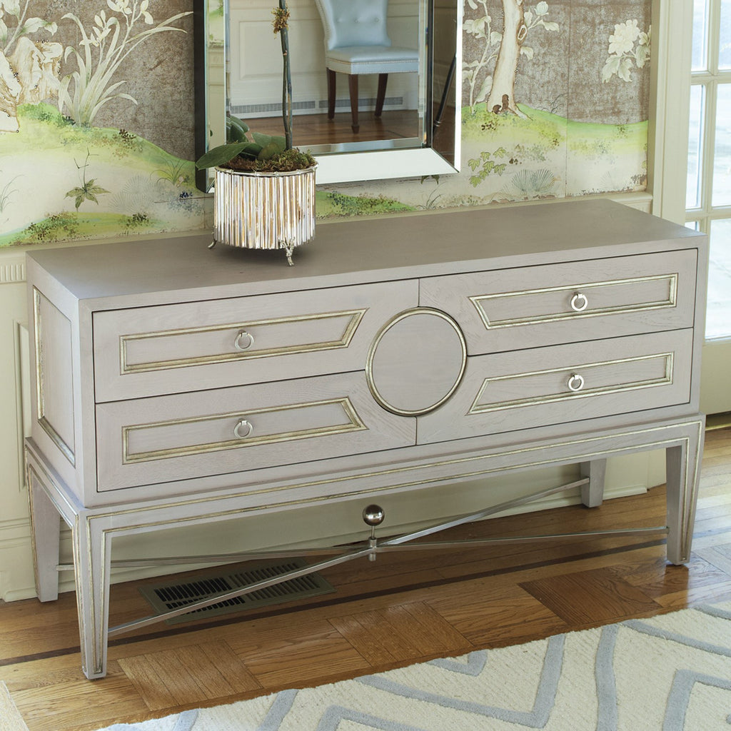 "Collector's 56"" Console - Grey - Grats Decor Interior Design & Build Inc."