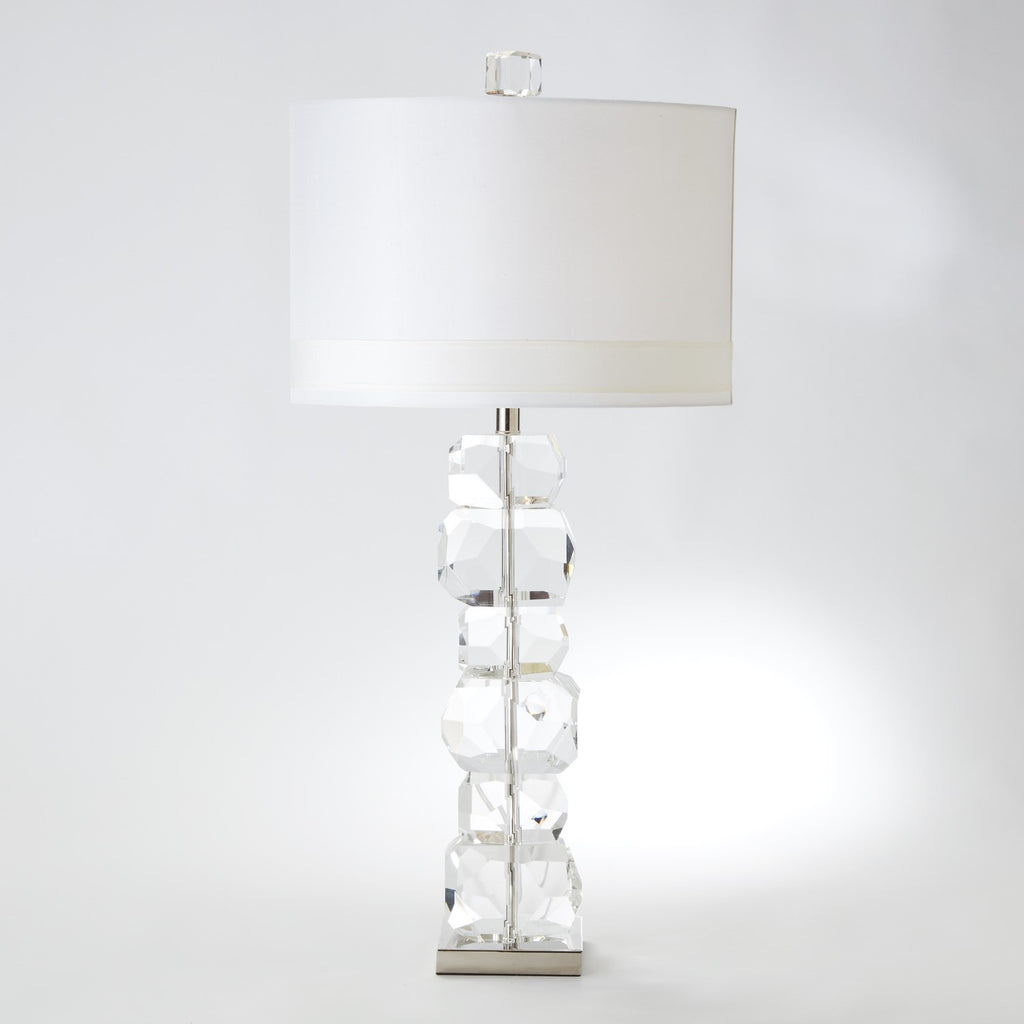 Stacked Gemstone Lamp - Tall - Grats Decor Interior Design & Build Inc.