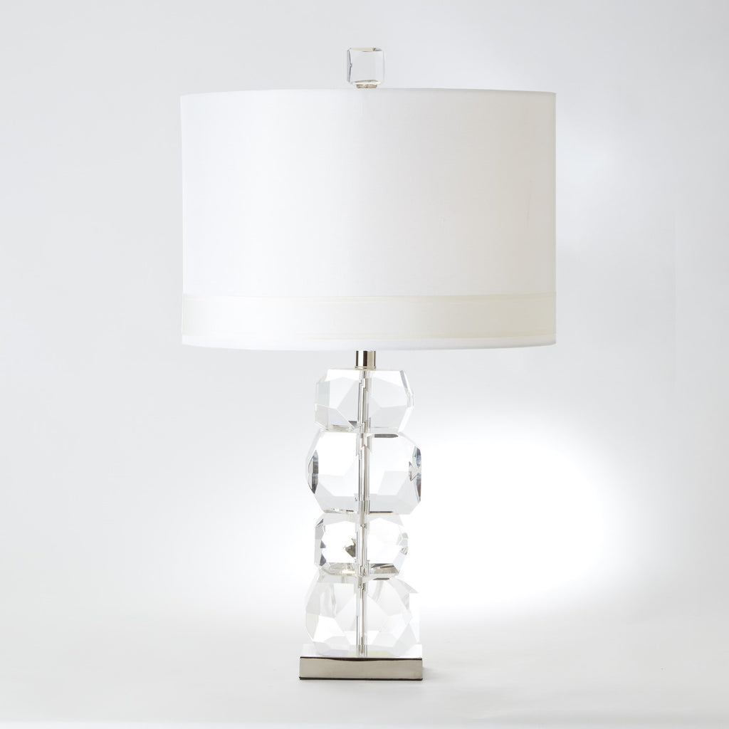 Stacked Gemstone Table Lamp - Short - Grats Decor Interior Design & Build Inc.
