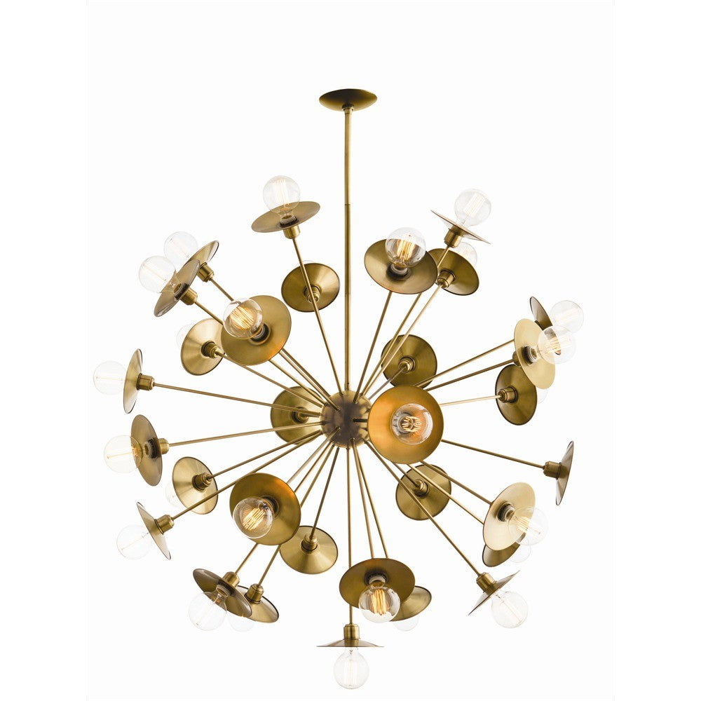 "Keegan Large 45""Dia Chandelier - Grats Decor Interior Design & Build Inc."