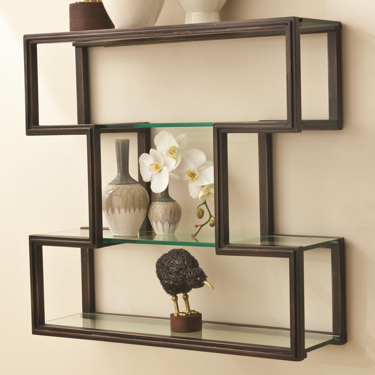 One Up Wall Shelf - Bronze
