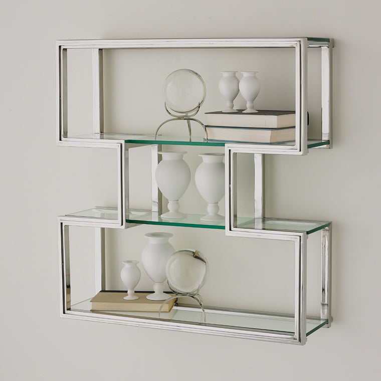 One Up Wall Shelf - Stainless Steel