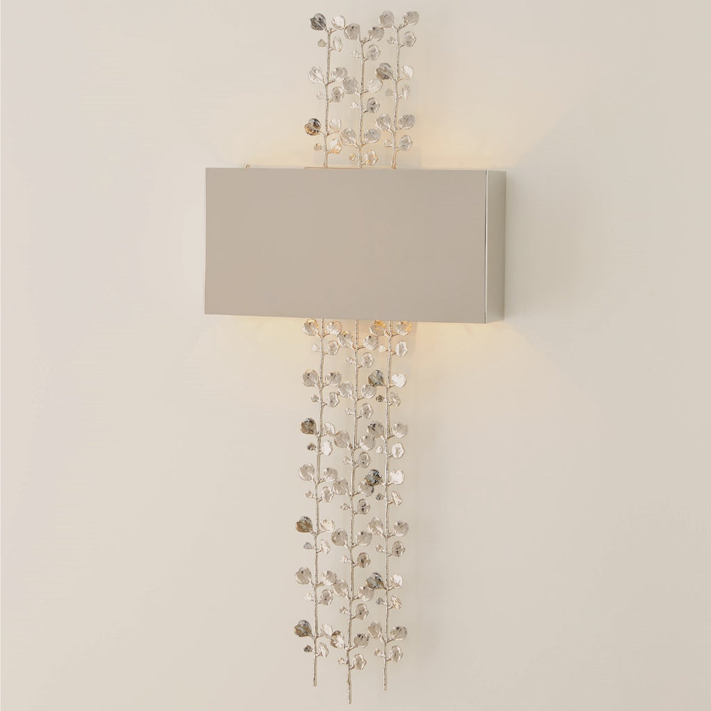 Bauhinia Sconce - Nickel - Grats Decor Interior Design & Build Inc.
