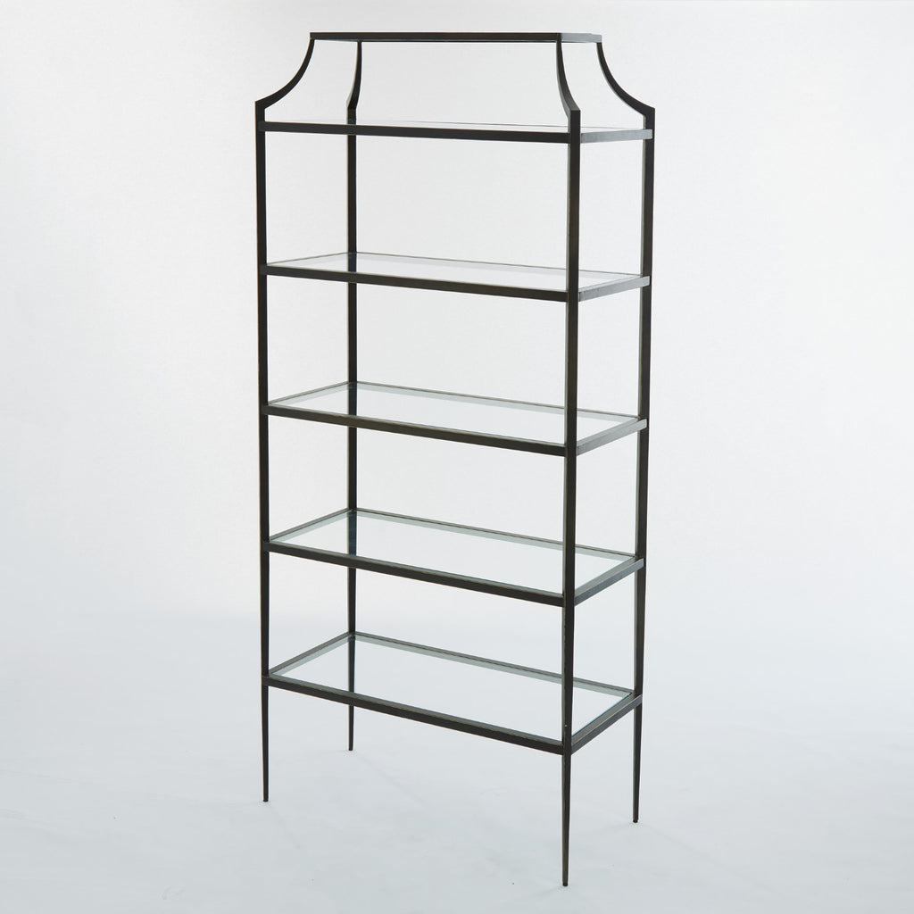 Lescot Etagere - Bronze - Grats Decor Interior Design & Build Inc.