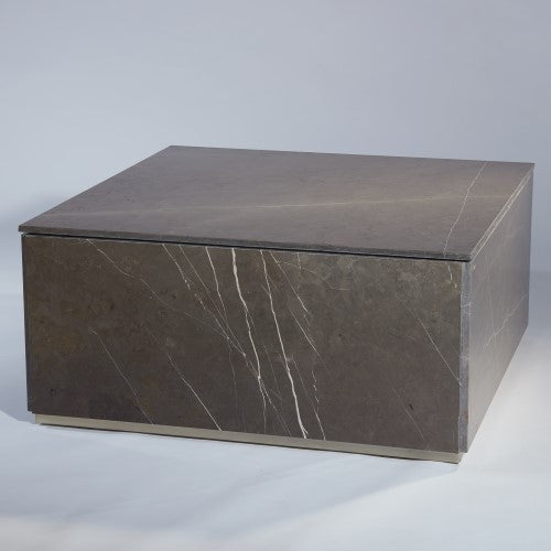 "Graffito 40"" Marble Cocktail Table"