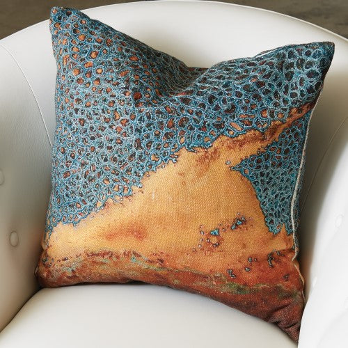 "Patina 20"" Pillow - Grats Decor Interior Design & Build Inc."