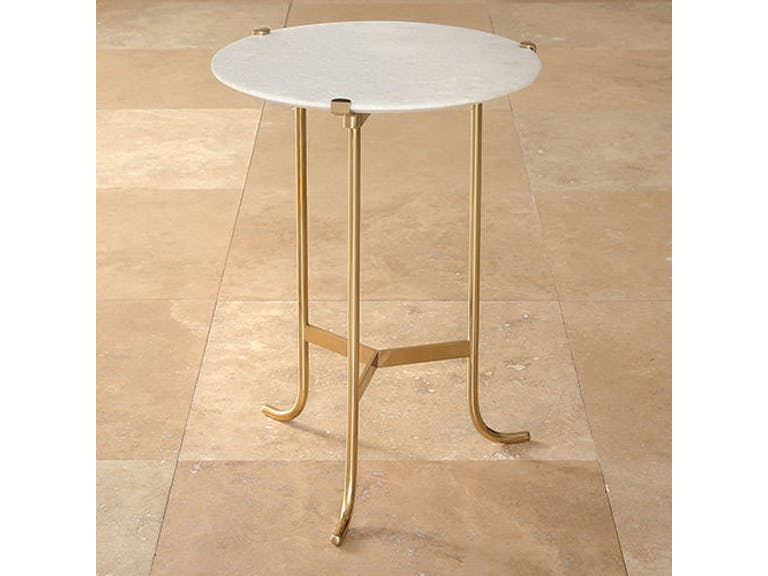 Plié Table - 2 sizes - Brass - Grats Decor Interior Design & Build Inc.