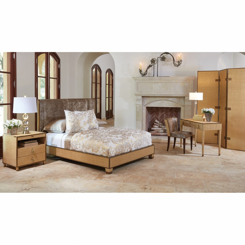D'Oro Bed- Venetian Gold - Queen/ King - Grats Decor Interior Design & Build Inc.