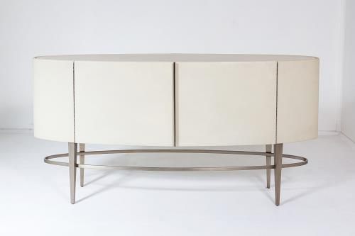 Ellipse Side Board - Ivory