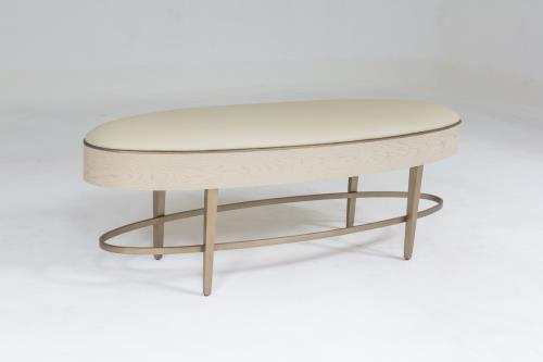 Ellipse Bench - Ivory