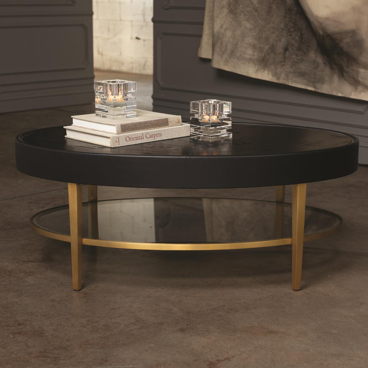 Ellipse Cocktail Table - Ebony