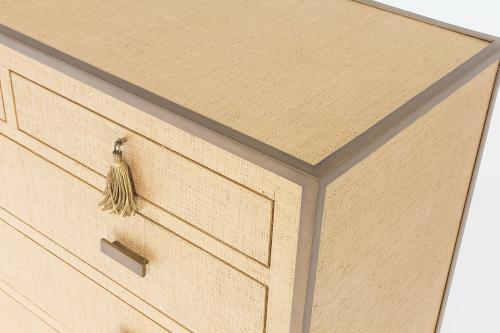 D'Oro Chest of Drawers - Venetian Gold