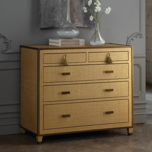 D'Oro Chest of Drawers - Venetian Gold - Grats Decor Interior Design & Build Inc.