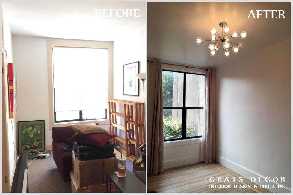 Castro Remodel - Grats Decor Interior Design & Build Inc.