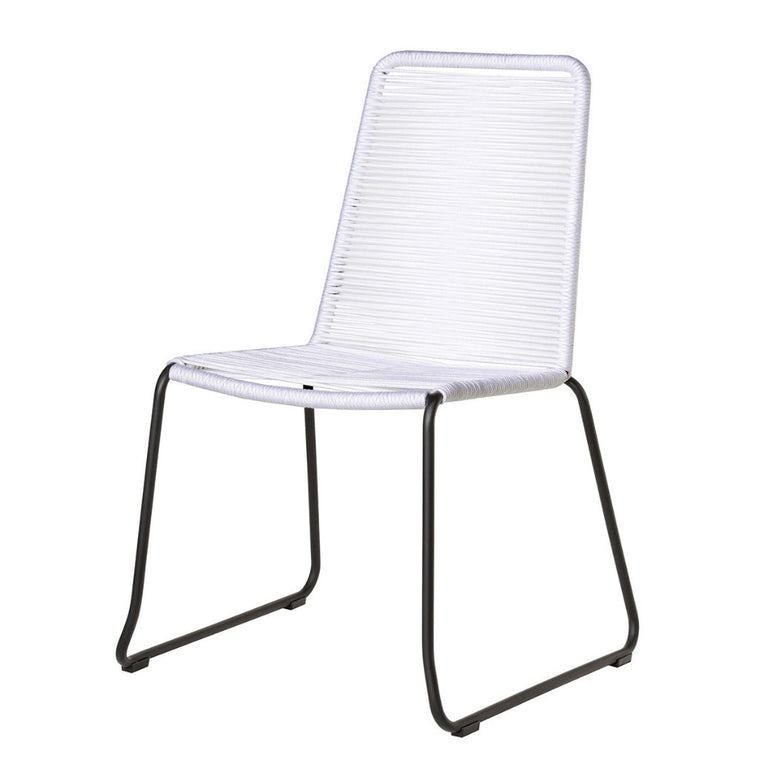 Rope Chair S/2 - White