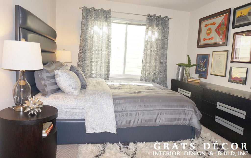 Cow Hollow Bedroom - Grats Decor Interior Design & Build Inc.