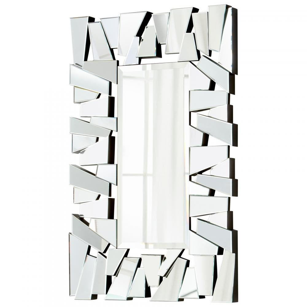 "Deconstructed 55"" Mirror - Grats Decor Interior Design & Build Inc."