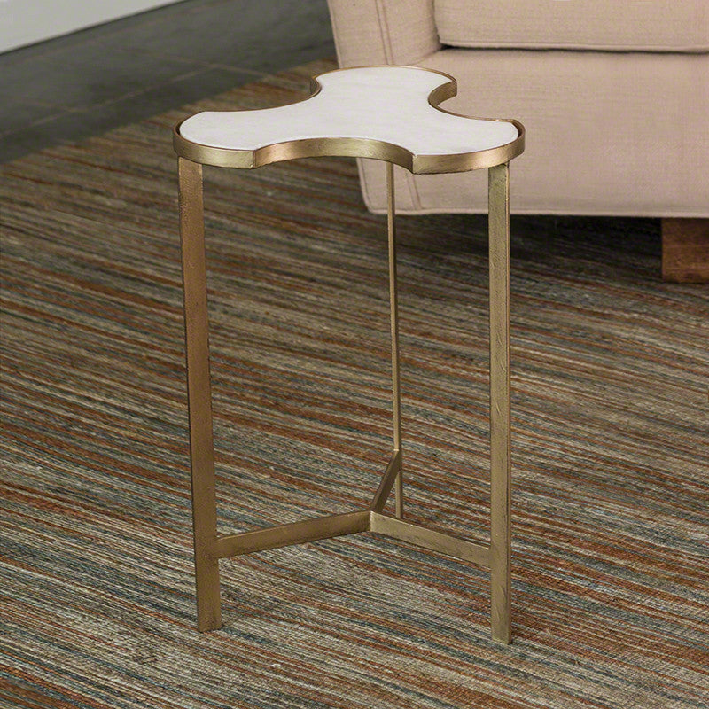 "Link Bunching 14"" Table - Antique Gold - Grats Decor Interior Design & Build Inc."