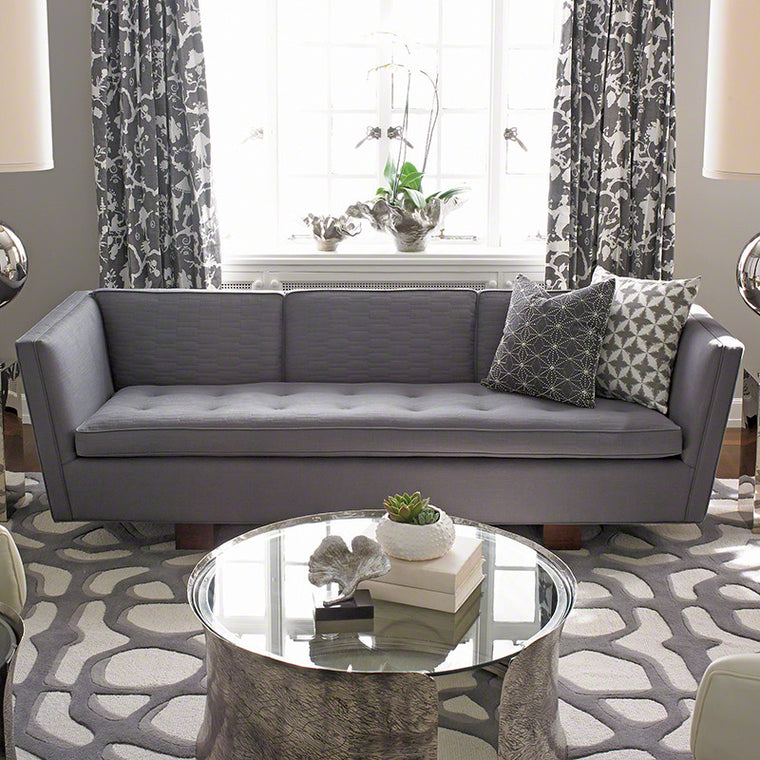 "Gent 91"" Sofa - COM - Grats Decor Interior Design & Build Inc."