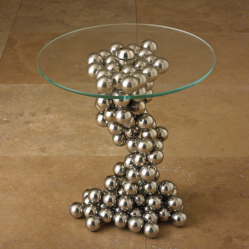 "Sphere 20""Dia Side Table - Grats Decor Interior Design & Build, Inc.  - 2"