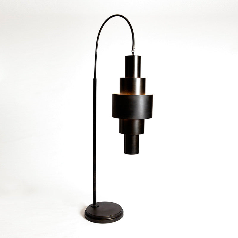 Babylon Floor Lamp - Bronze - Grats Decor Interior Design & Build Inc.