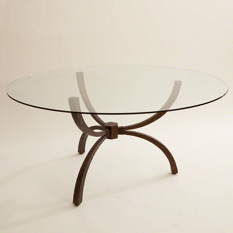 "Teton 48""Dia/60""Dia Dining Table - Bronze - Grats Decor Interior Design & Build Inc."