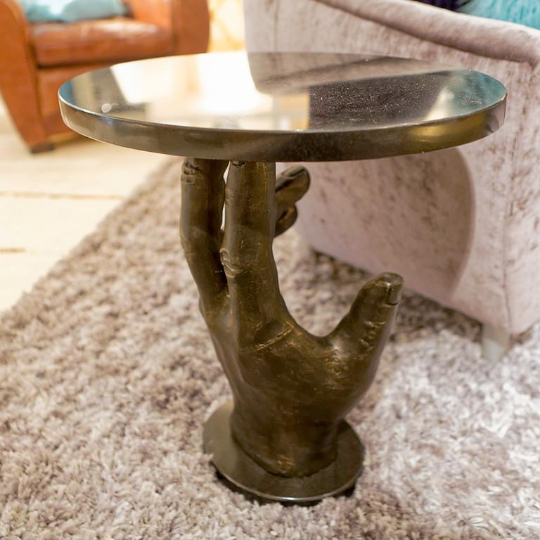 "Hand 20"" Side Table"
